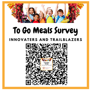 This is code to scan to complete the to go meals survey