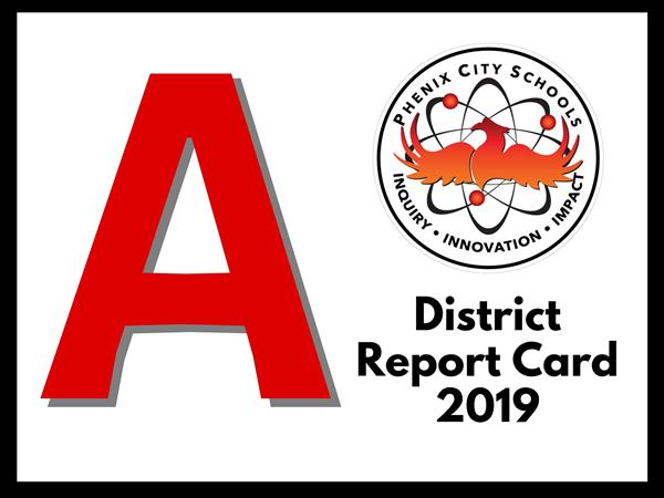 Phenix City Schools District Report Card Yard Sign